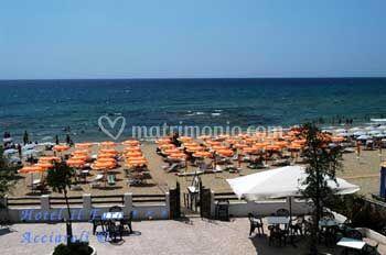 Hotel Il Faro spiaggia