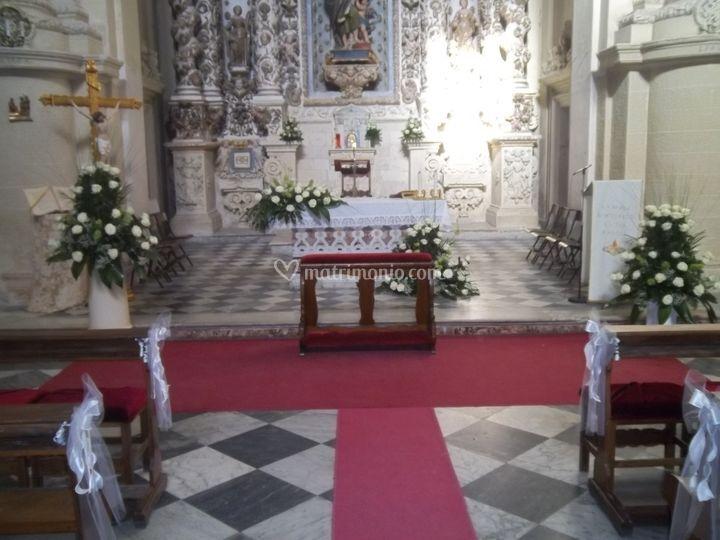 Allestimento San Matteo a Lecce