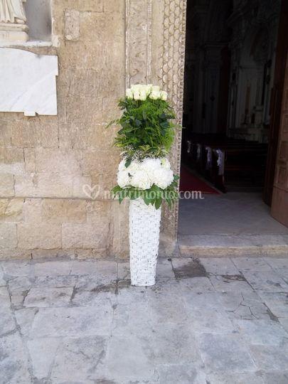 Colonna di fiori