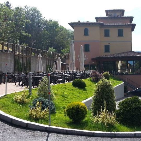 Esterno Ingresso Di Hotel Villa Clore Foto 12