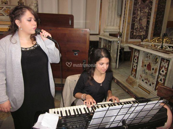 In Chiesa con pianista