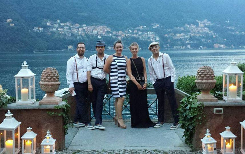 Restauro Band - Lago di Como
