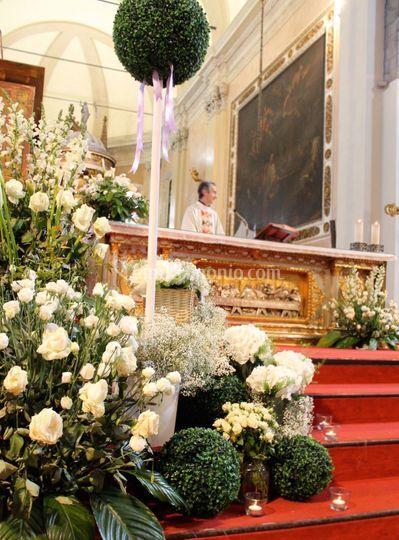 Altare Matrimonio R+E