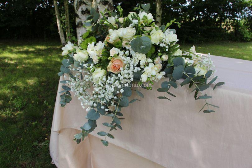 Composizione tavolo cerimonia