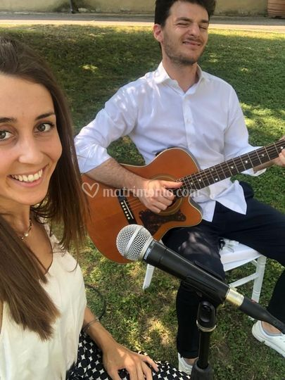 Wedding acoustic duo