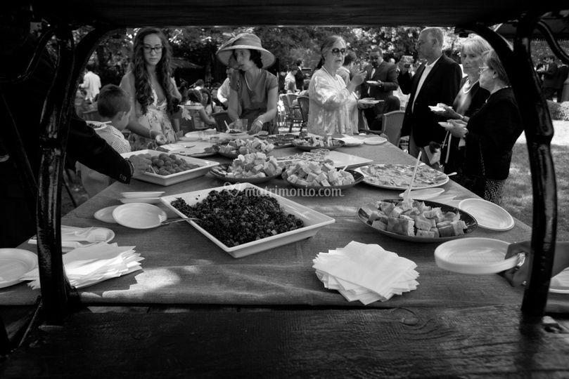 Buffet e ospiti