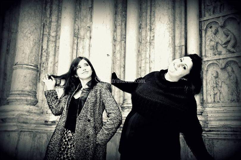 Due front-women  perfette!