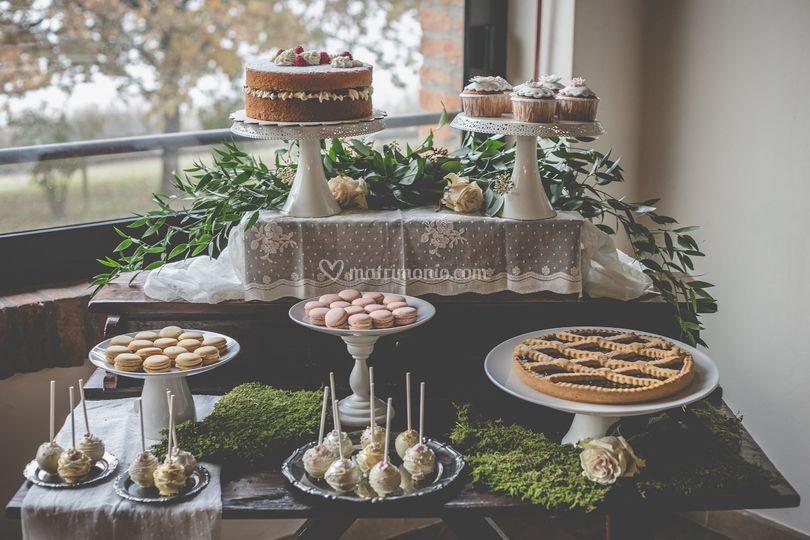 Sweet table vintage