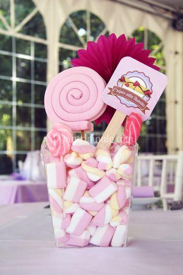 Sweet wedding - centrotavola