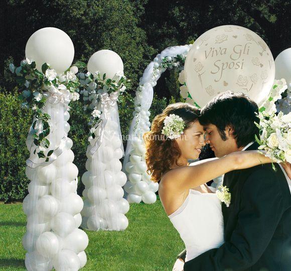 Soffia e vola for Decorazione giardino matrimonio