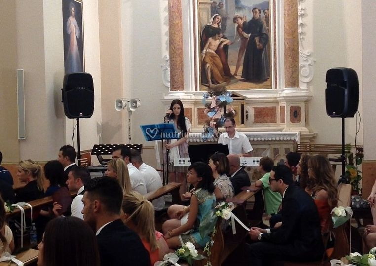 Esibizione in chiesa