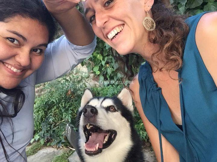 Yago, Cati e Ba