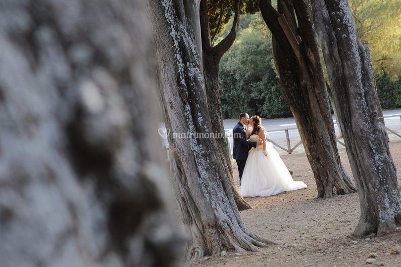 Sposi nella natura