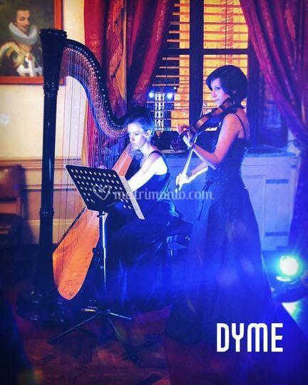 Arpa e violino DYME