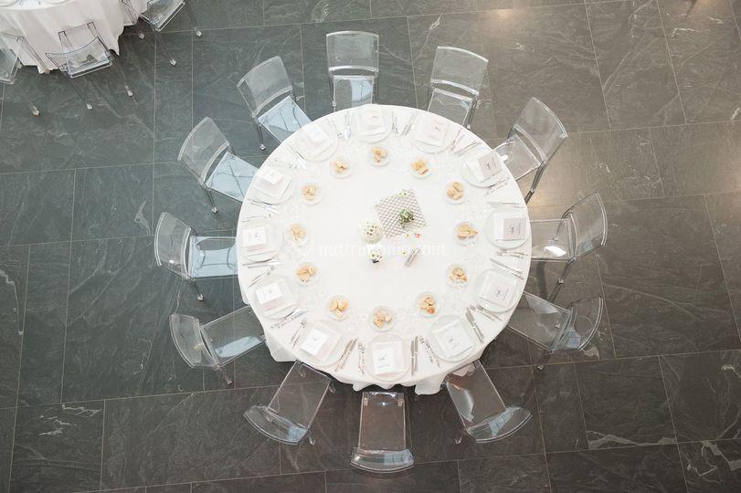Allestimento cena aziendale
