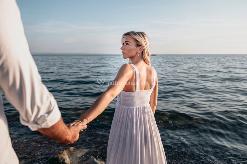 Engagement in Sistiana