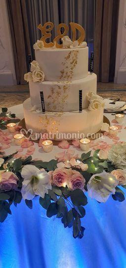 Taglio torta Palazzo Parigi