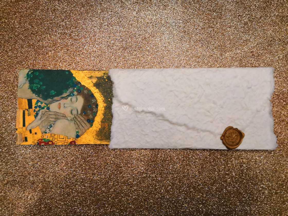 Partecipazioni Matrimonio Klimt.Linea Klimt Partecipazione Di Plinty Foto 99