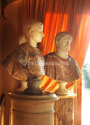Busti di nobili romani