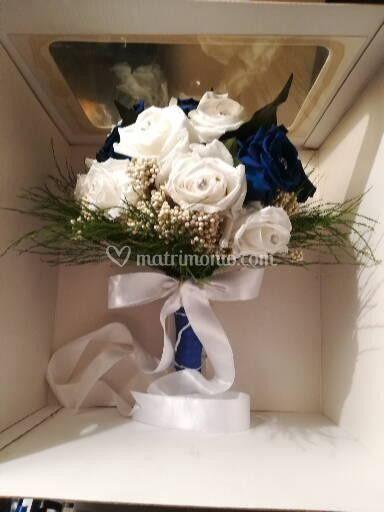 Bouquet fiori stabilizzati.