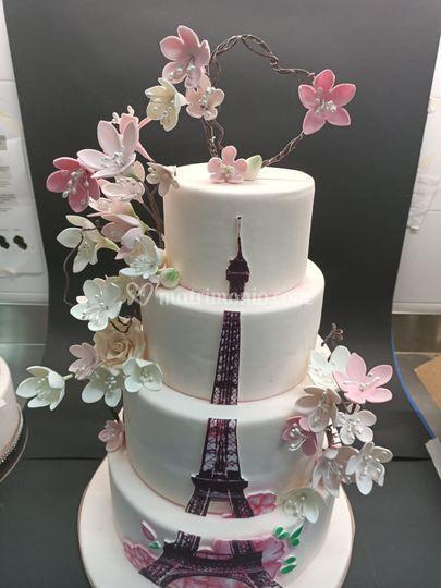 Torta nuziale cake design