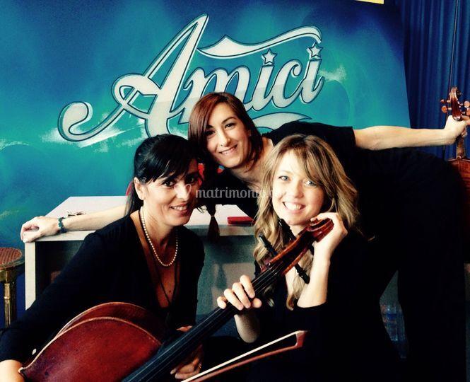 Il Trio Mariquita ad Amici