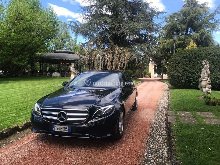 Mercedes classe e fronte