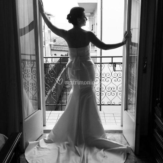 La sposa il giorno delle nozze