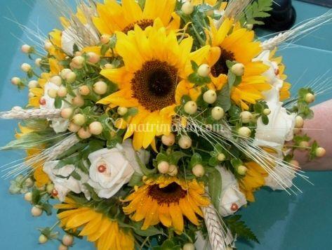 Bouquet da sposa misti