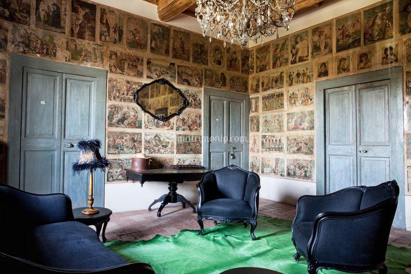 Sala privata suite La Rana