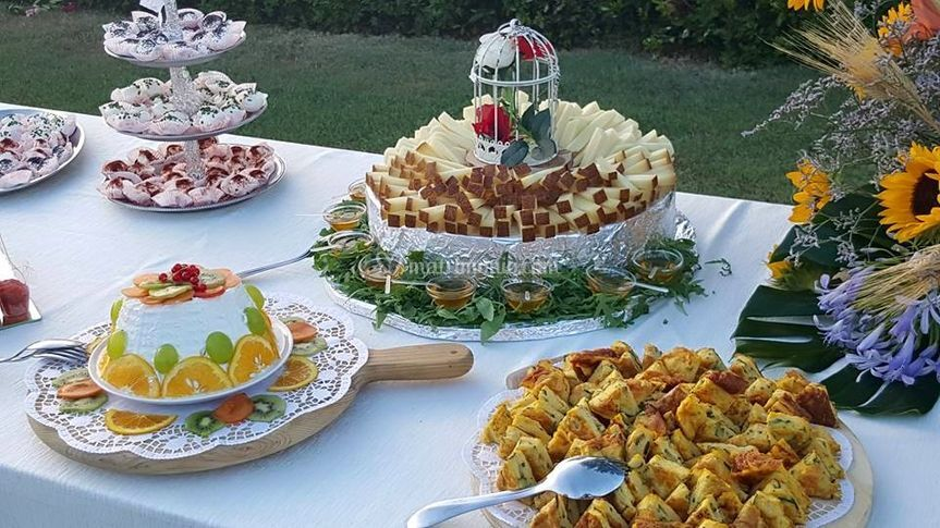 Antipasti a buffet
