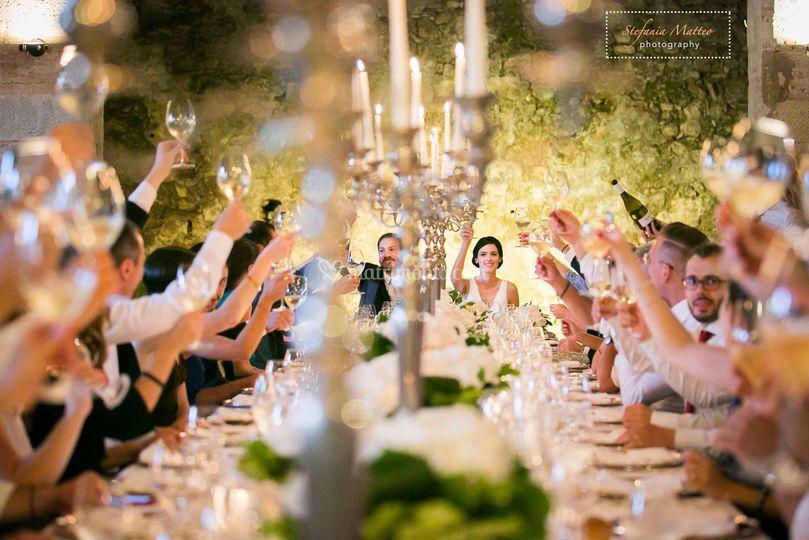 Brindisi agli sposi!!!