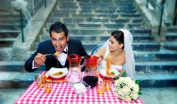 Spagetti wedding