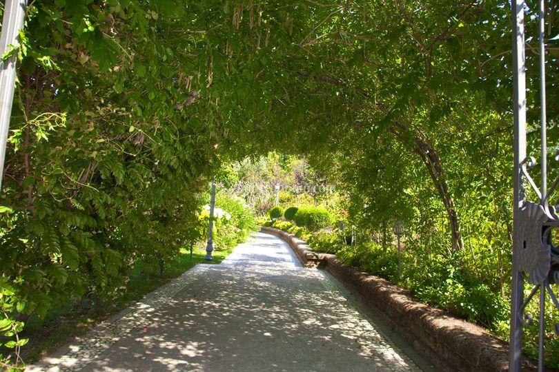 L'ingresso ai giardini
