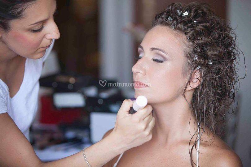 Backstage sposa