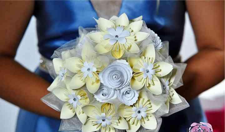Bouquet Sposa in carta