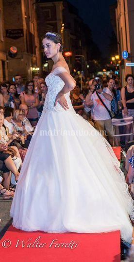Principesco abito da sposa