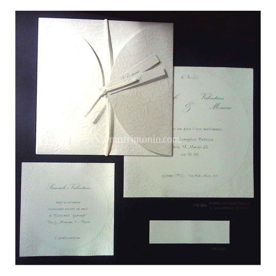 Partecipazioni nozze 110806R