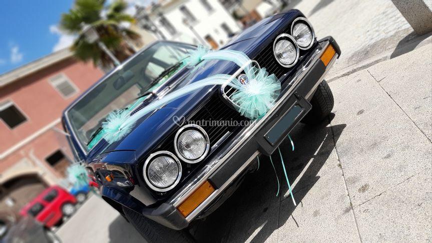 Decoro auto sposi