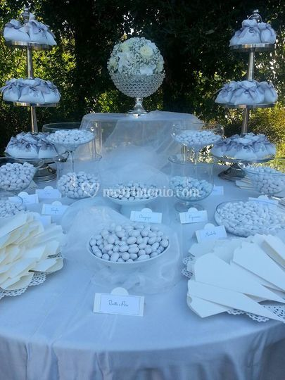 Esposito Wedding Cake e Sweet Table
