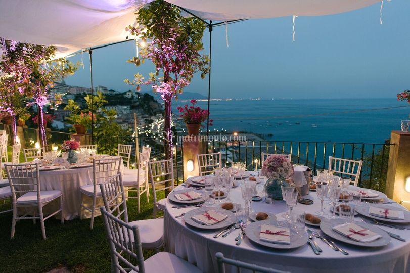Giardini a terrazza sul mare di palazzo suriano foto 2 for Foto giardini a terrazza