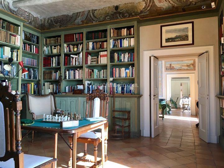 L'esclusiva antica biblioteca