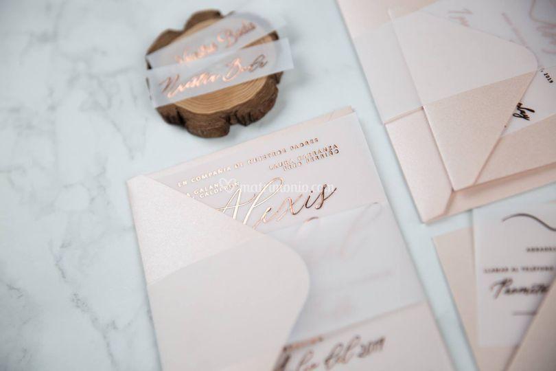 Partecipazioni matrimonio Lux