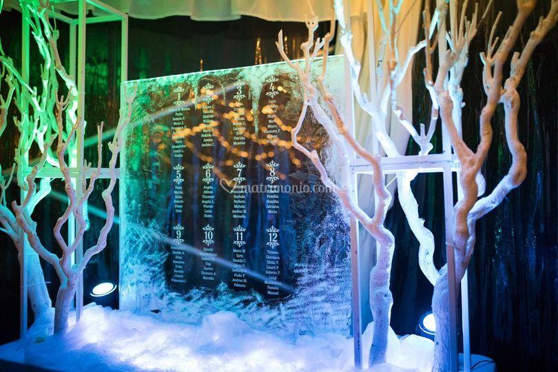 Tableau tema ghiaccio