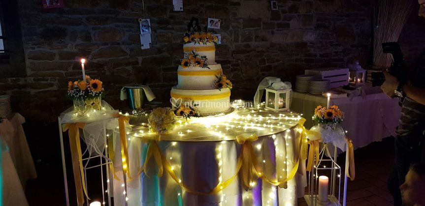 Una Torta in giallo