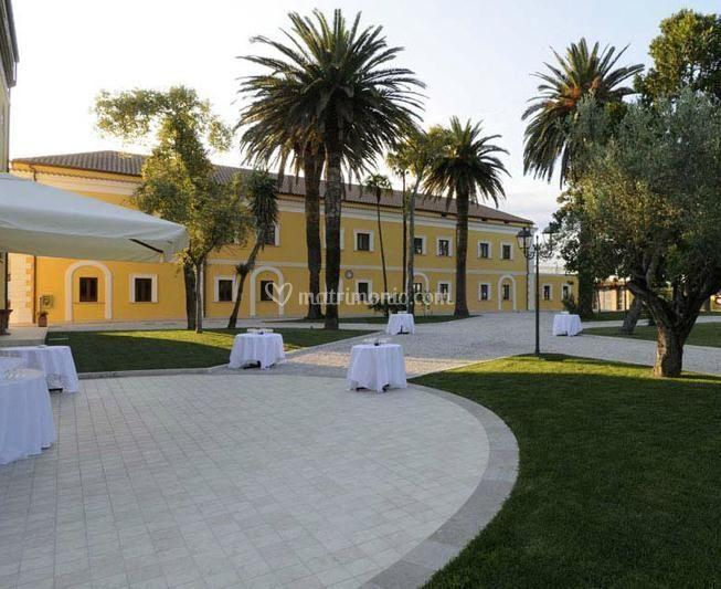 Villa Fiorita esterni