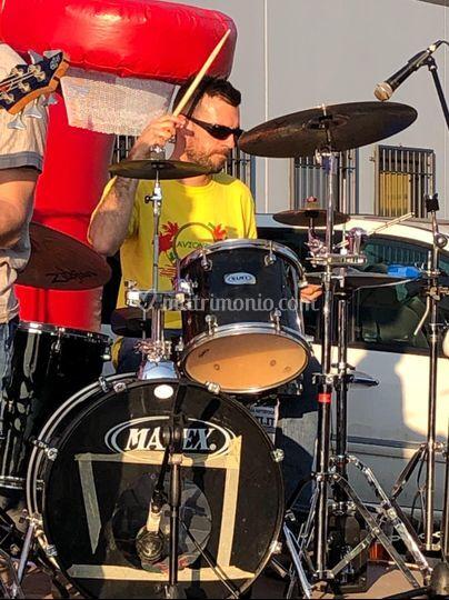 Il nostro batterista