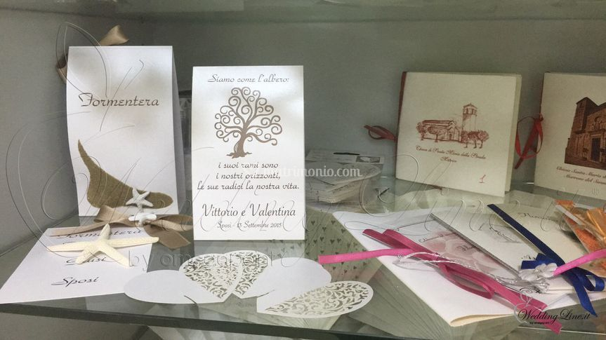 Partecipazioni e libri messa