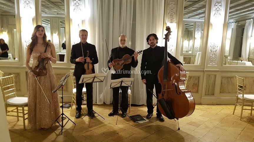 Casina valadier-quartetto