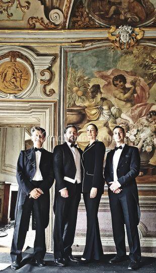 Quartetto BVLGARI gioielli
